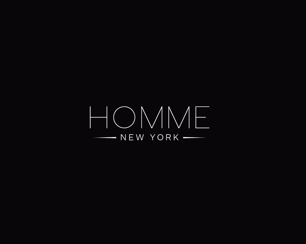 Logo Design by roc - Entry No. 112 in the Logo Design Contest Artistic Logo Design for HOMME | NEW YORK.