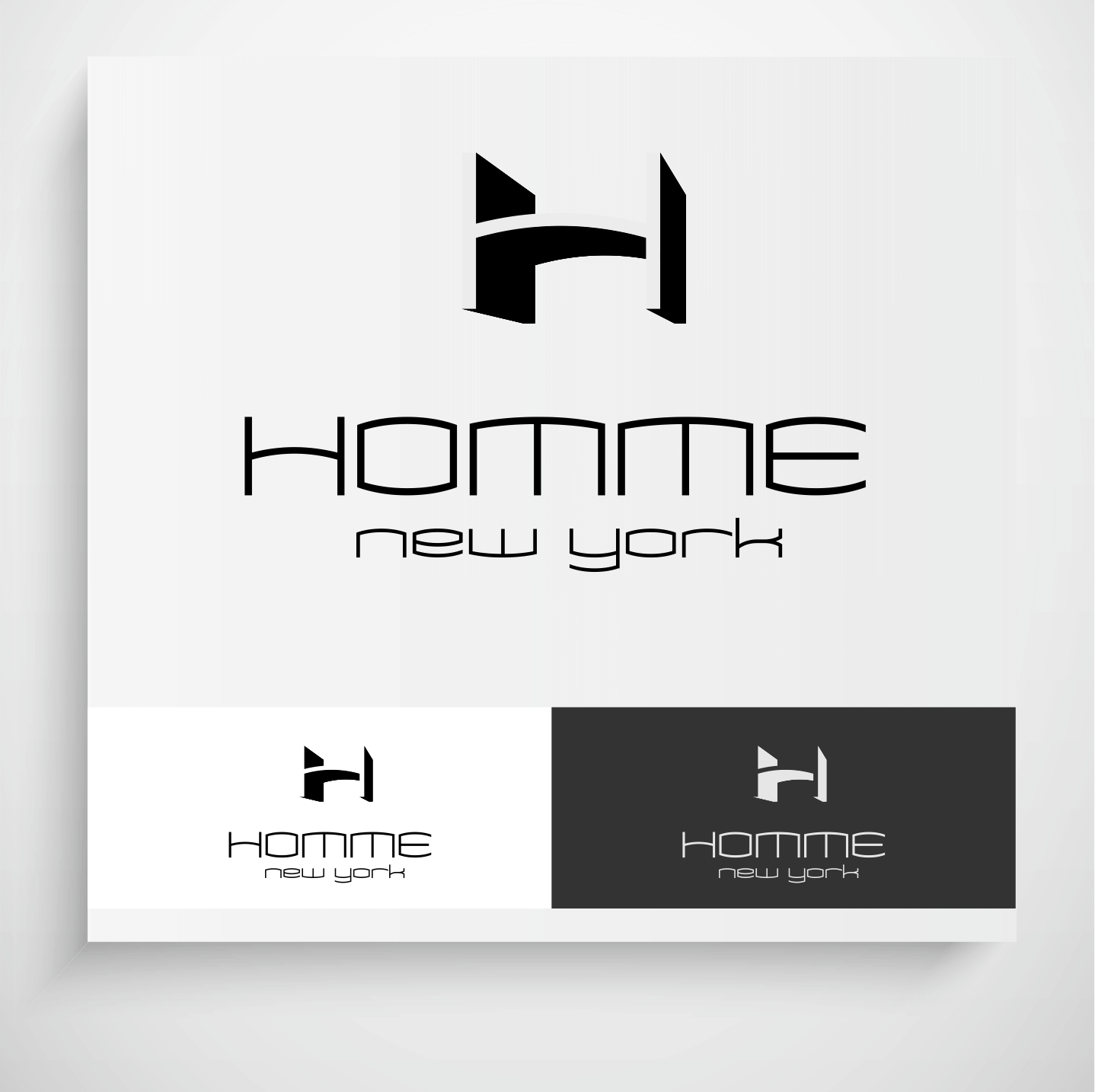 Logo Design by Krzysztof Mokanek - Entry No. 114 in the Logo Design Contest Artistic Logo Design for HOMME | NEW YORK.