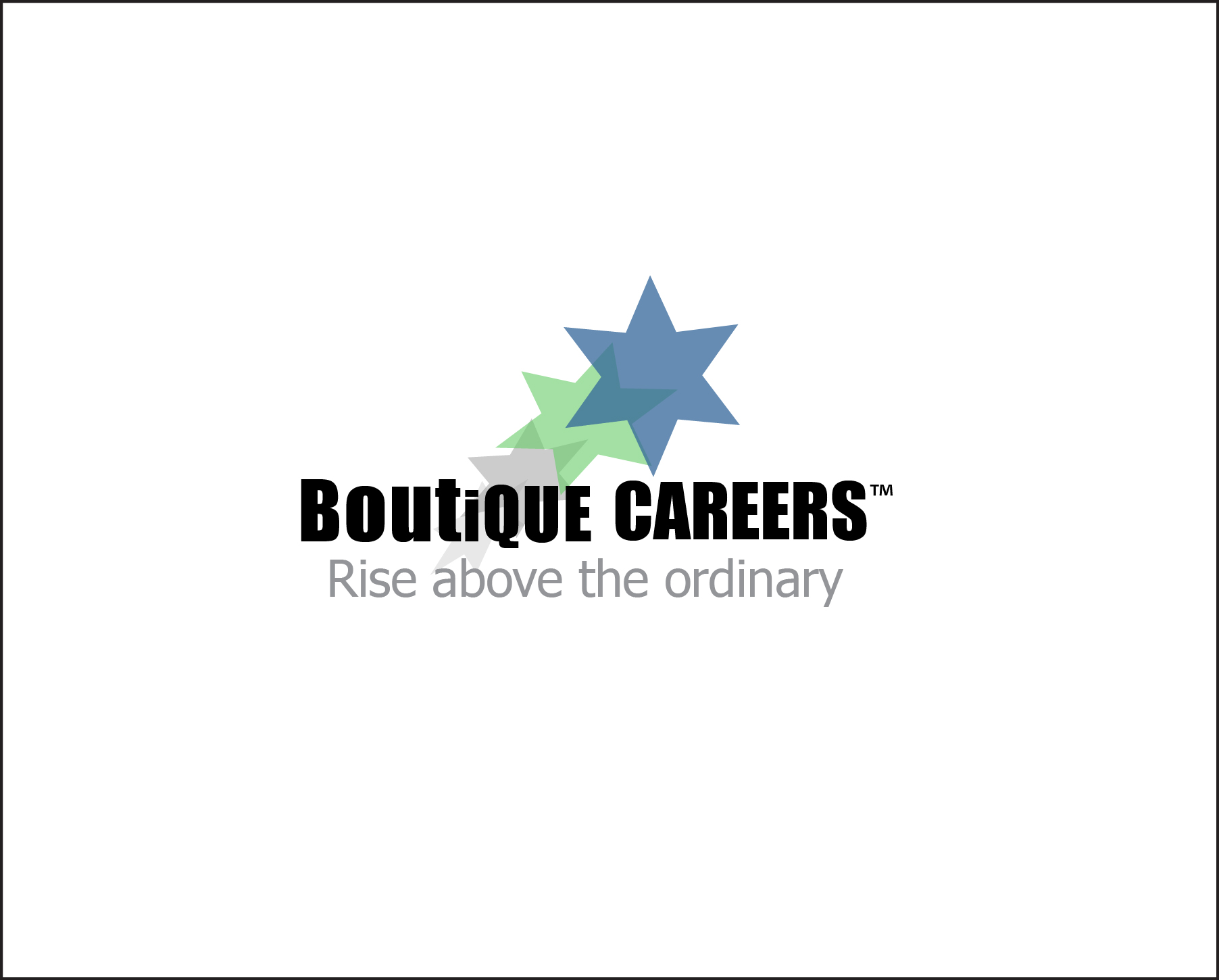 Logo Design by Nancy Grant - Entry No. 5 in the Logo Design Contest Captivating Logo Design for Boutique Careers.