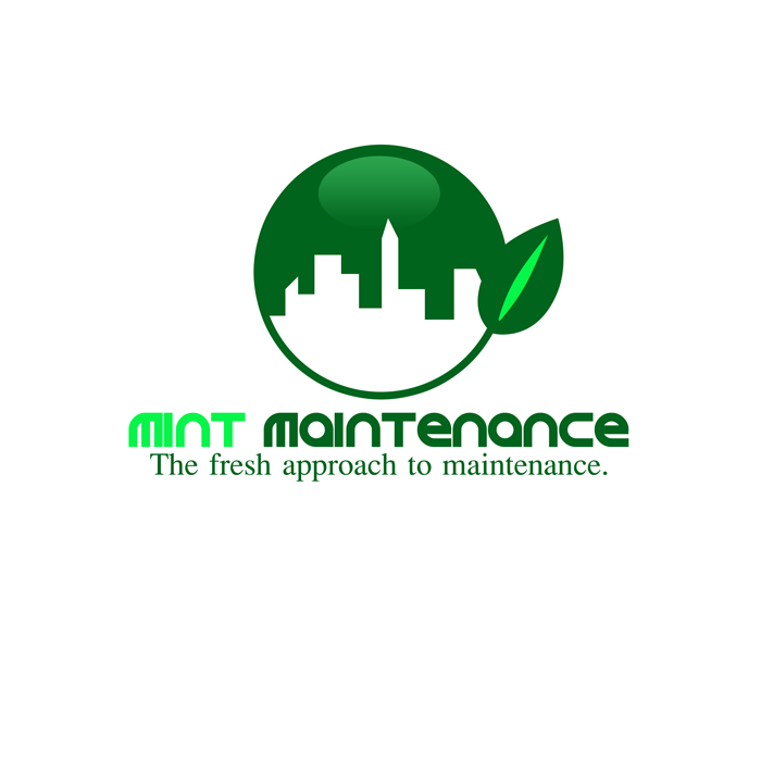 Logo Design by Private User - Entry No. 161 in the Logo Design Contest Creative Logo Design for Mint Maintenance.