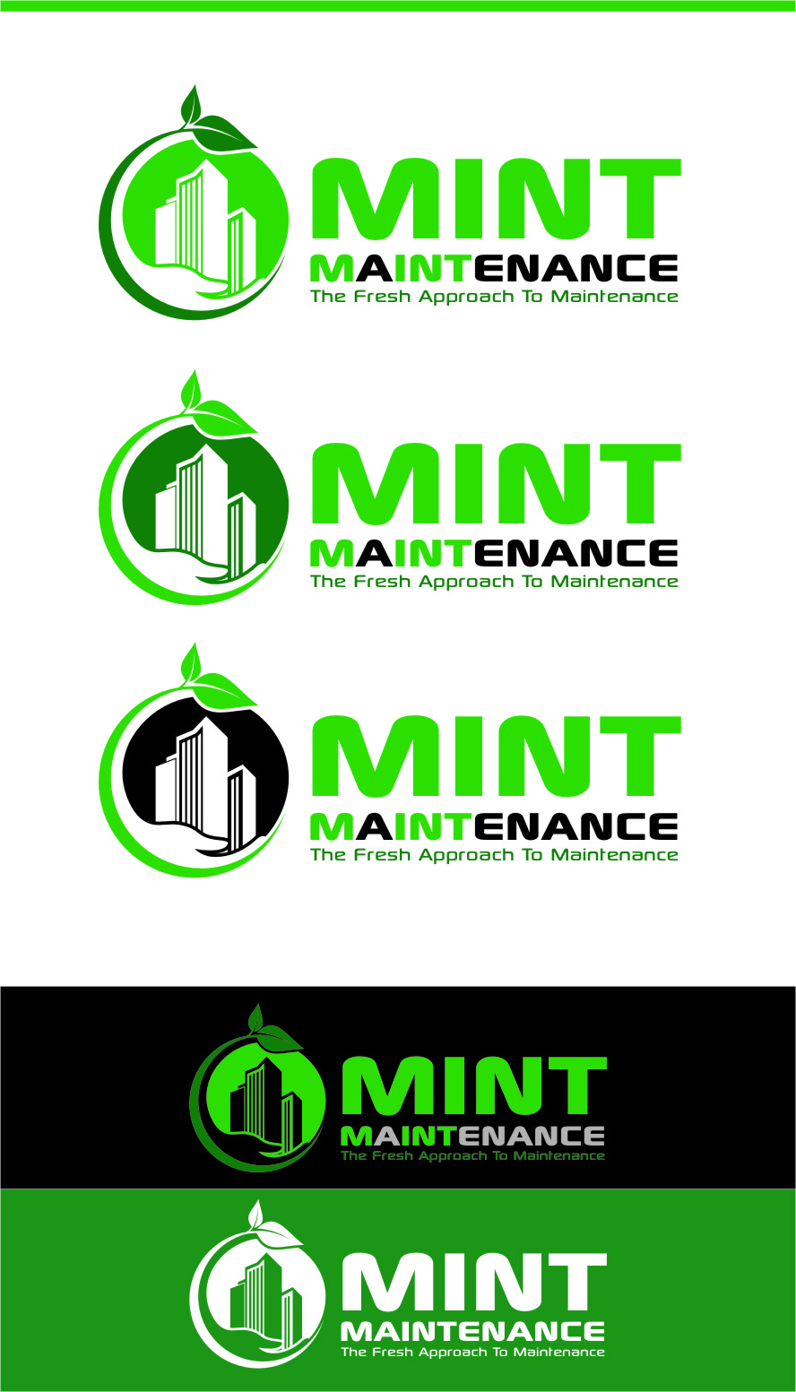 Logo Design by Ngepet_art - Entry No. 169 in the Logo Design Contest Creative Logo Design for Mint Maintenance.