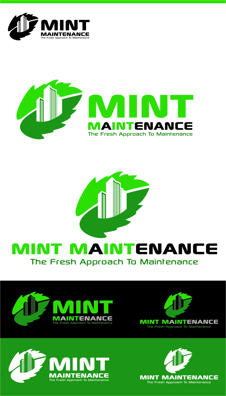 Logo Design by RasYa Muhammad Athaya - Entry No. 172 in the Logo Design Contest Creative Logo Design for Mint Maintenance.