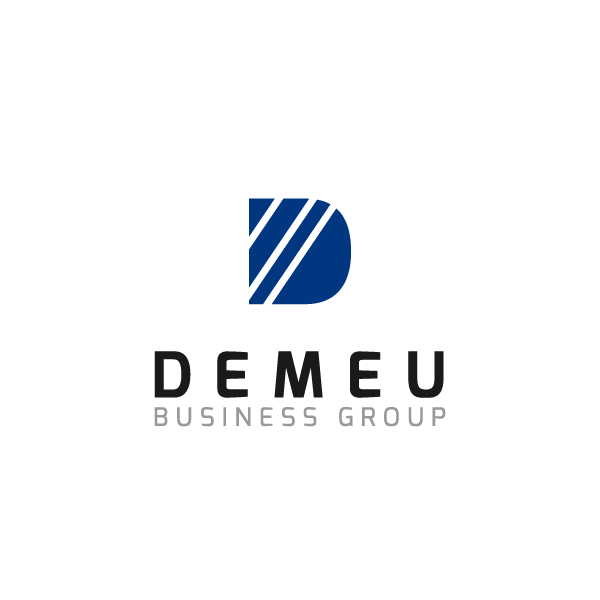 Logo Design by chinie05 - Entry No. 59 in the Logo Design Contest Captivating Logo Design for DEMEU Business Group.