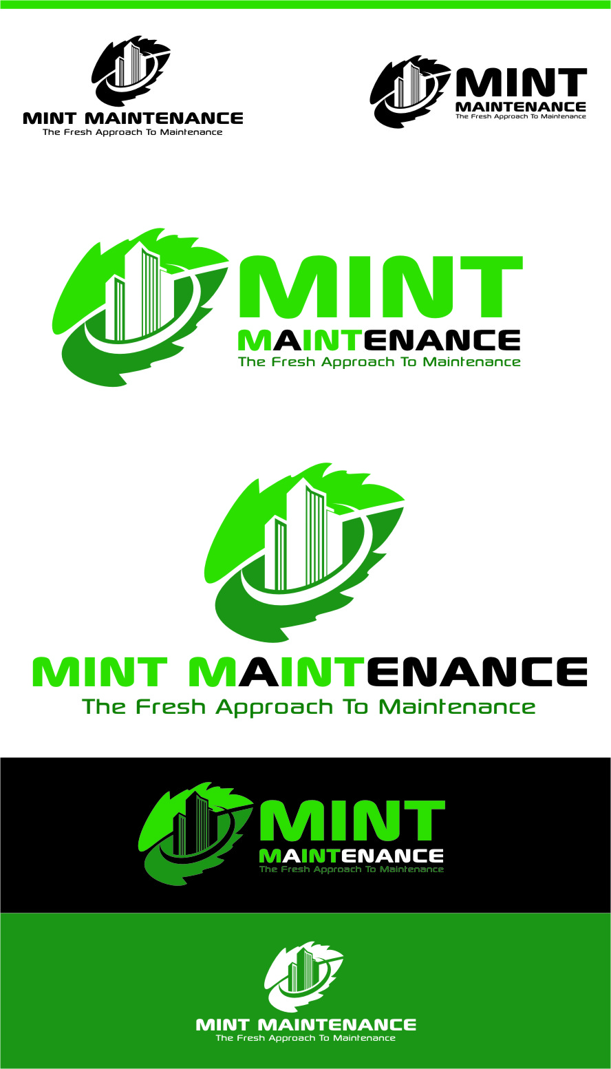 Logo Design by RasYa Muhammad Athaya - Entry No. 174 in the Logo Design Contest Creative Logo Design for Mint Maintenance.