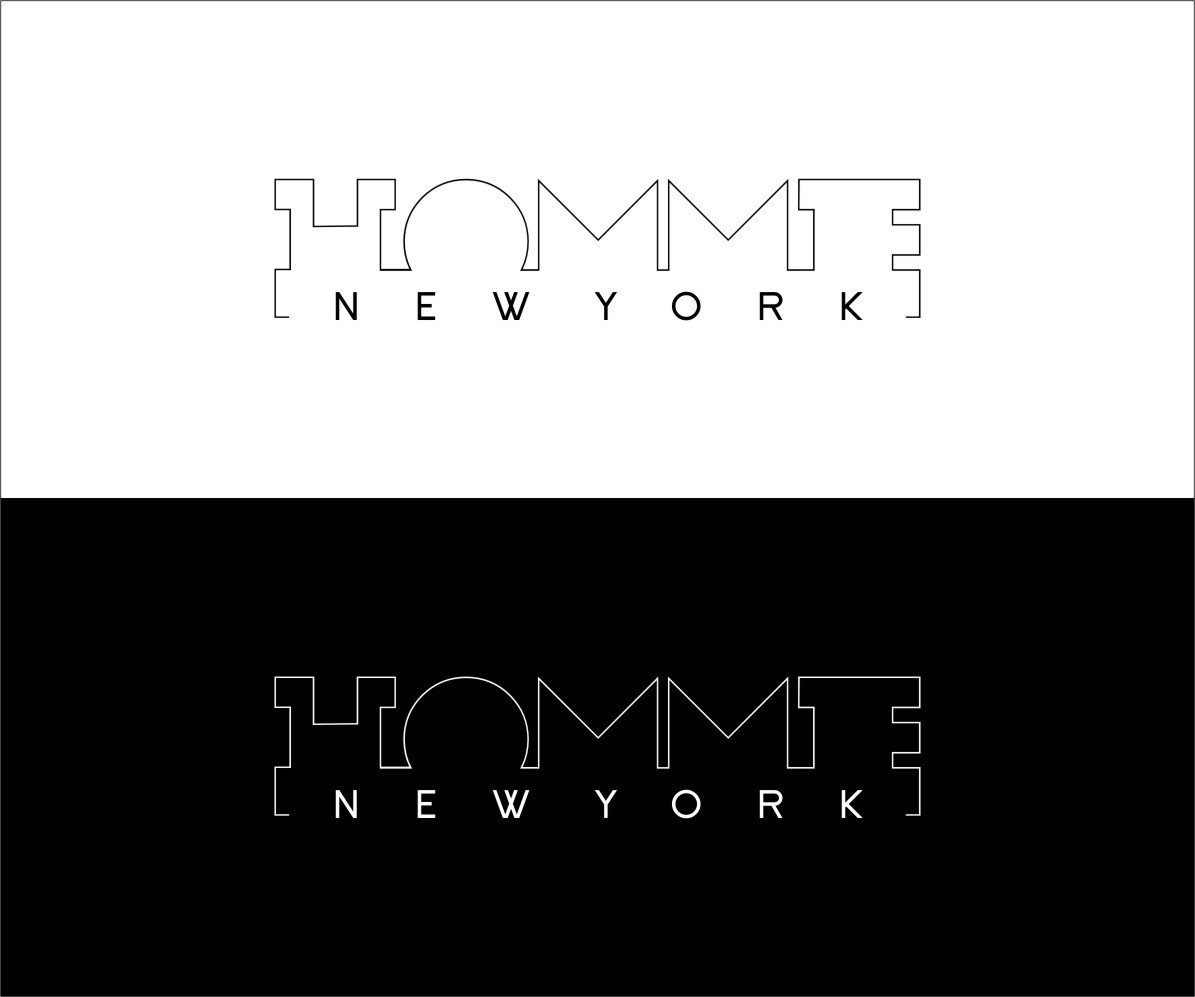 Logo Design by RasYa Muhammad Athaya - Entry No. 116 in the Logo Design Contest Artistic Logo Design for HOMME | NEW YORK.