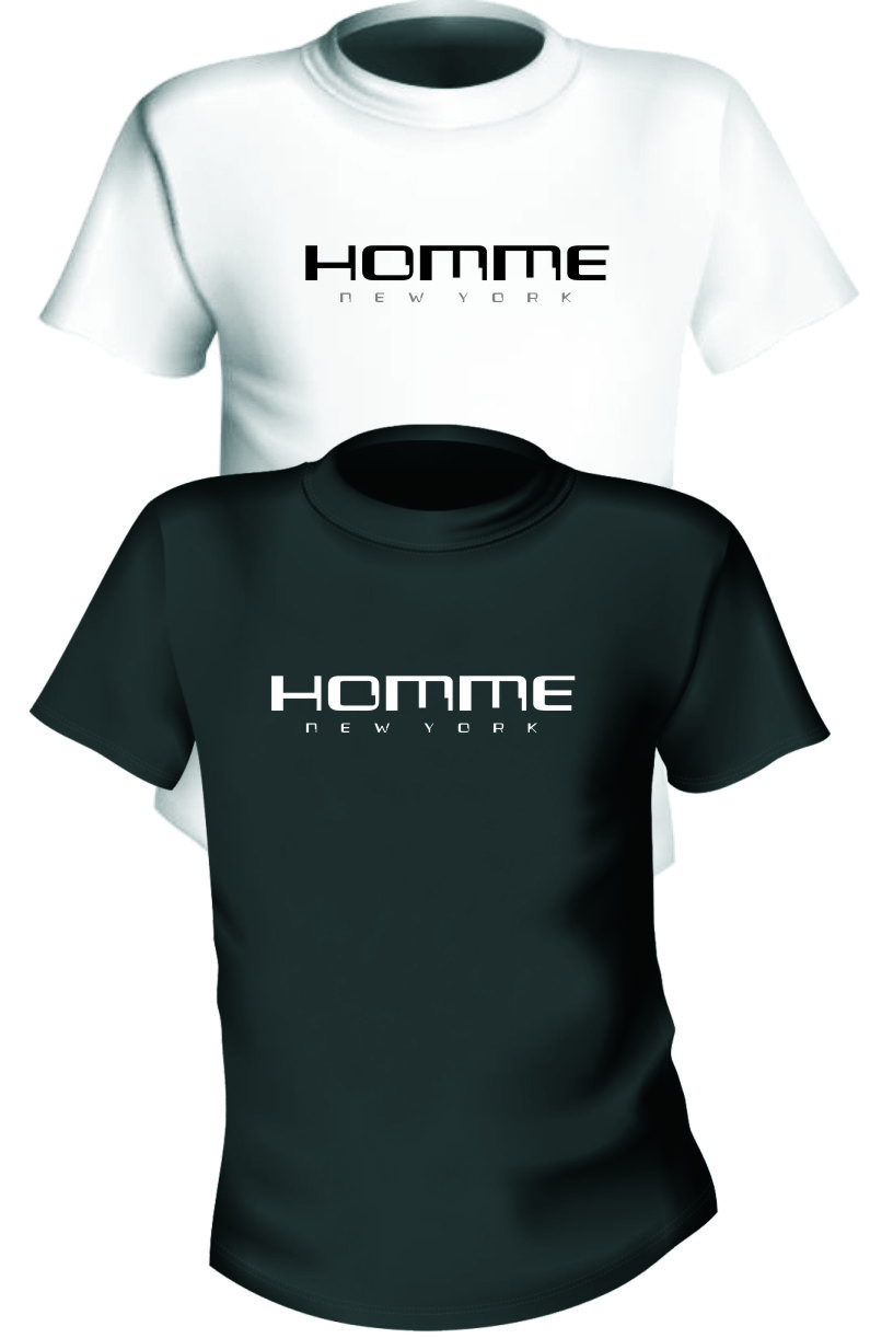 Logo Design by Ngepet_art - Entry No. 123 in the Logo Design Contest Artistic Logo Design for HOMME | NEW YORK.