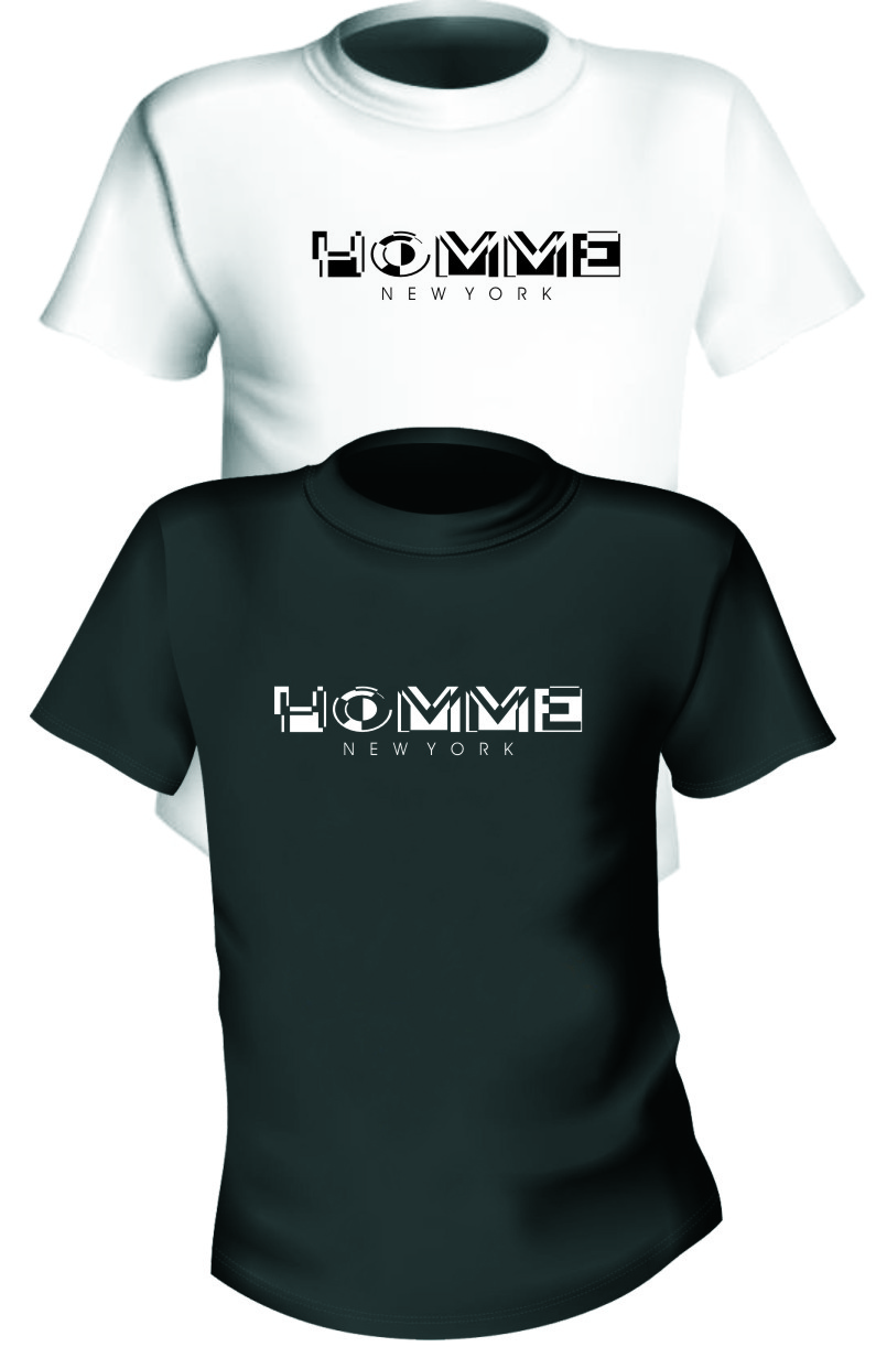 Logo Design by RasYa Muhammad Athaya - Entry No. 125 in the Logo Design Contest Artistic Logo Design for HOMME | NEW YORK.