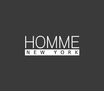 Logo Design by Crystal Desizns - Entry No. 126 in the Logo Design Contest Artistic Logo Design for HOMME | NEW YORK.