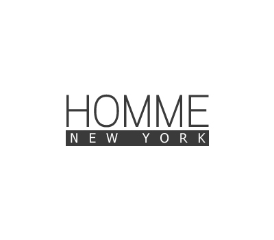 Logo Design by Crystal Desizns - Entry No. 127 in the Logo Design Contest Artistic Logo Design for HOMME | NEW YORK.