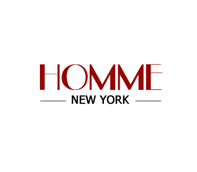 Logo Design by Crystal Desizns - Entry No. 131 in the Logo Design Contest Artistic Logo Design for HOMME | NEW YORK.