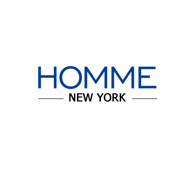 Logo Design by Crystal Desizns - Entry No. 132 in the Logo Design Contest Artistic Logo Design for HOMME | NEW YORK.