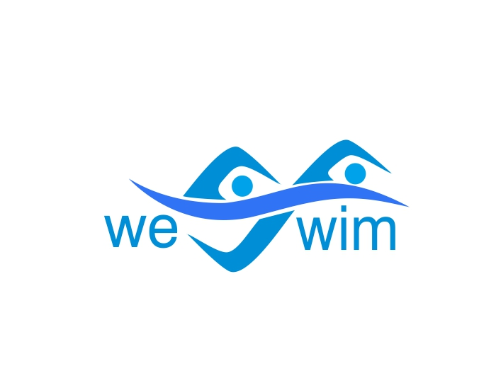 Logo Design by ronny - Entry No. 37 in the Logo Design Contest Captivating Logo Design for We Swim.