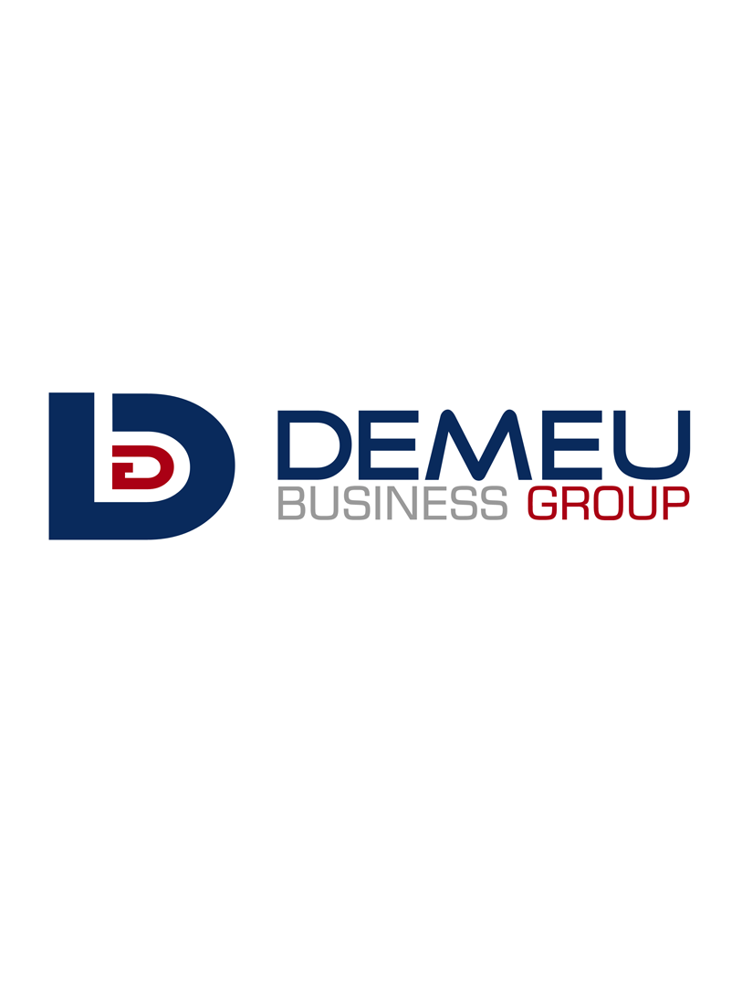 Logo Design by Robert Turla - Entry No. 61 in the Logo Design Contest Captivating Logo Design for DEMEU Business Group.