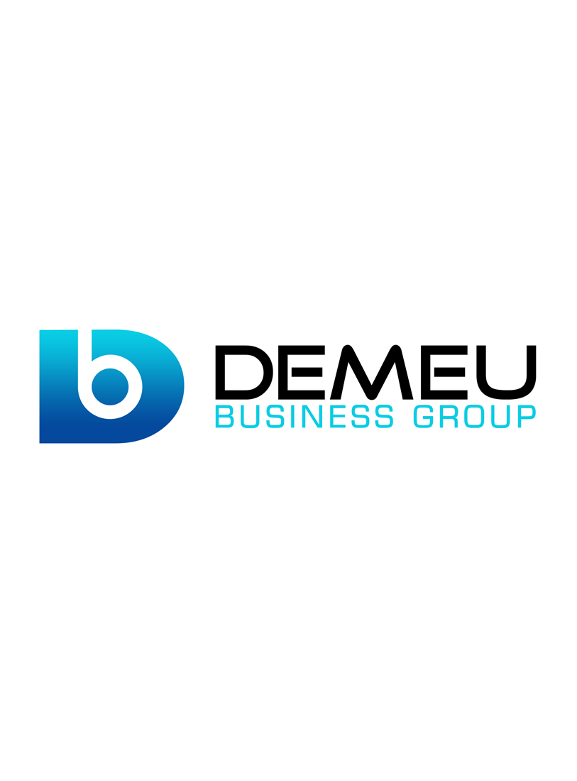Logo Design by Robert Turla - Entry No. 64 in the Logo Design Contest Captivating Logo Design for DEMEU Business Group.