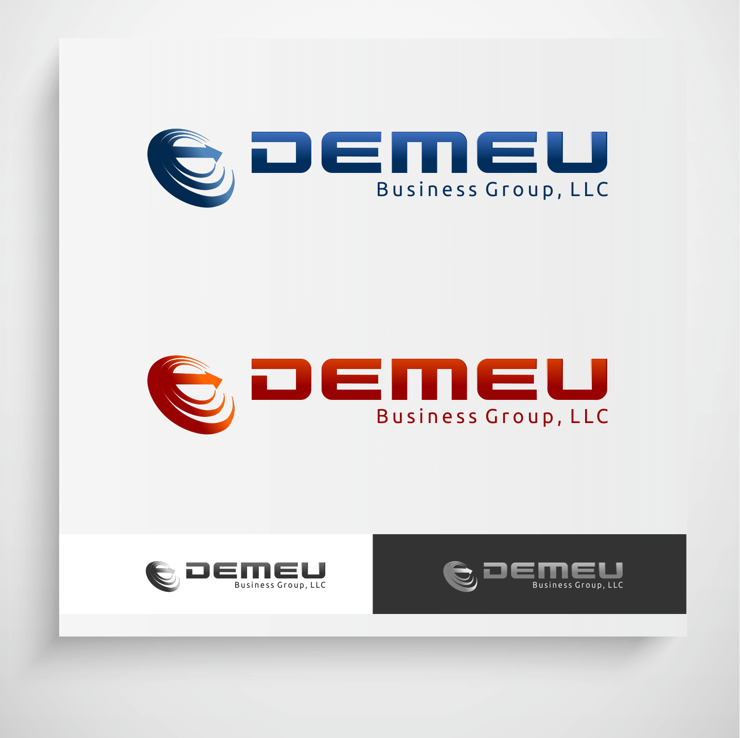 Logo Design by Krzysztof Mokanek - Entry No. 70 in the Logo Design Contest Captivating Logo Design for DEMEU Business Group.
