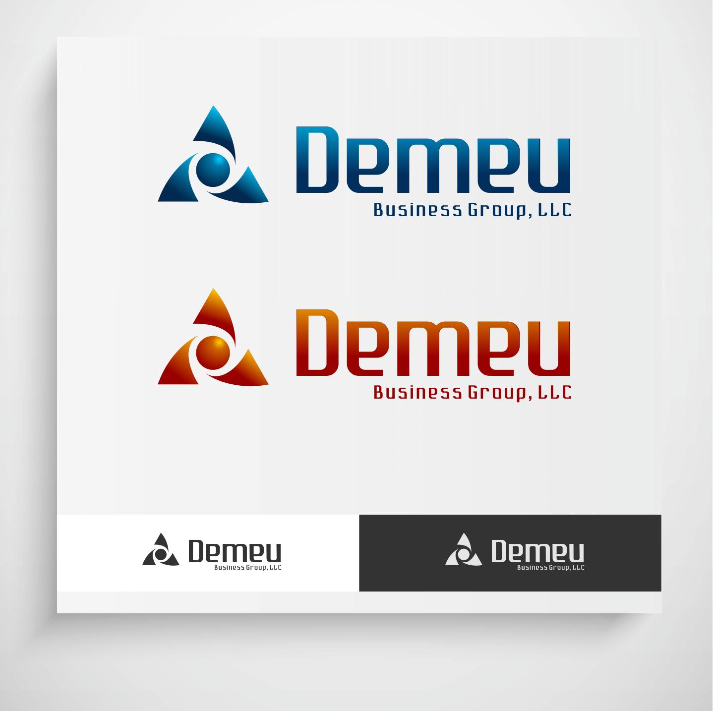 Logo Design by Krzysztof Mokanek - Entry No. 72 in the Logo Design Contest Captivating Logo Design for DEMEU Business Group.