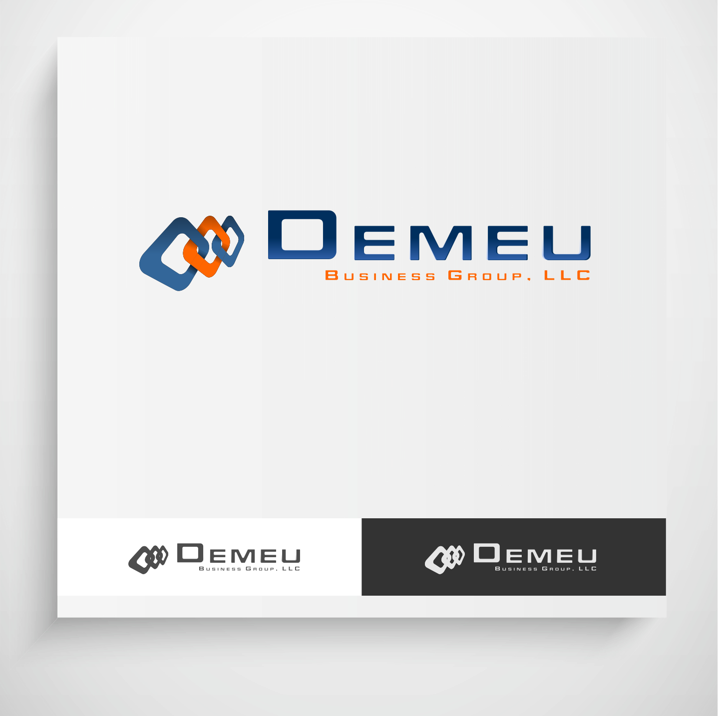 Logo Design by Krzysztof Mokanek - Entry No. 75 in the Logo Design Contest Captivating Logo Design for DEMEU Business Group.