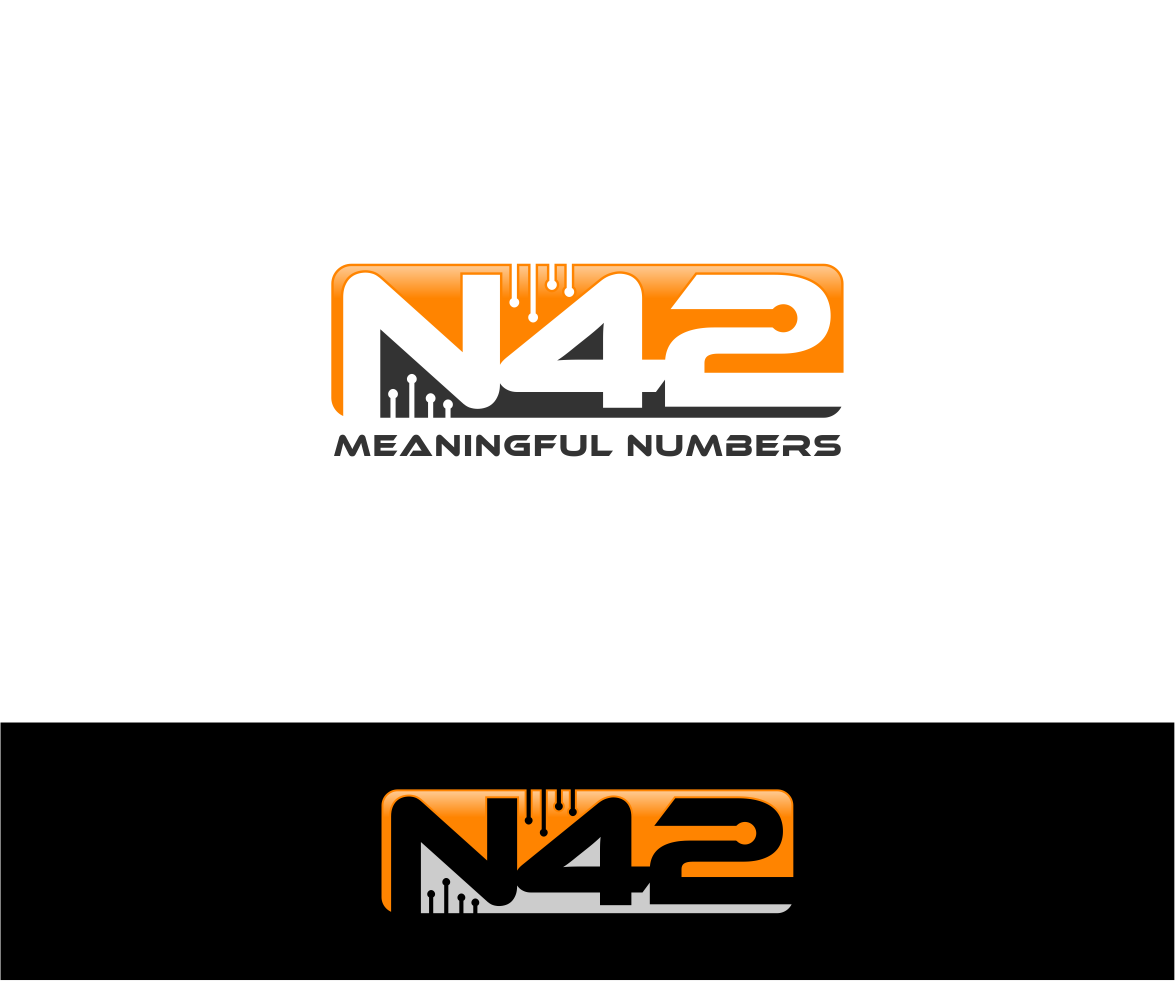 Logo Design by haidu - Entry No. 185 in the Logo Design Contest Artistic Logo Design for Number 42.