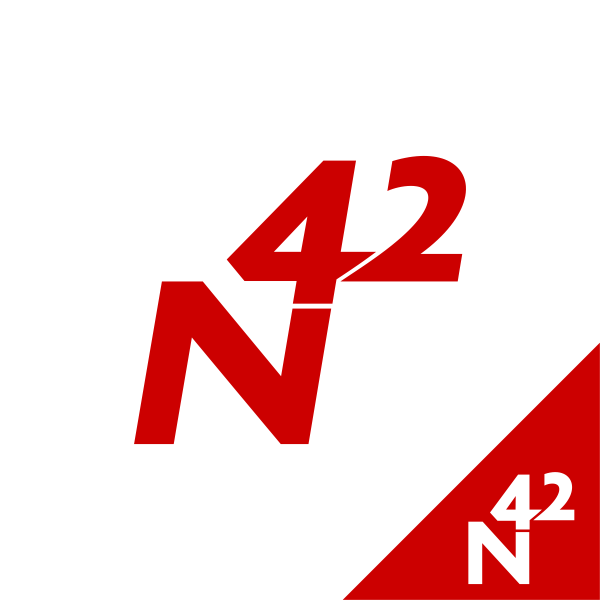 Logo Design by Rudy - Entry No. 196 in the Logo Design Contest Artistic Logo Design for Number 42.