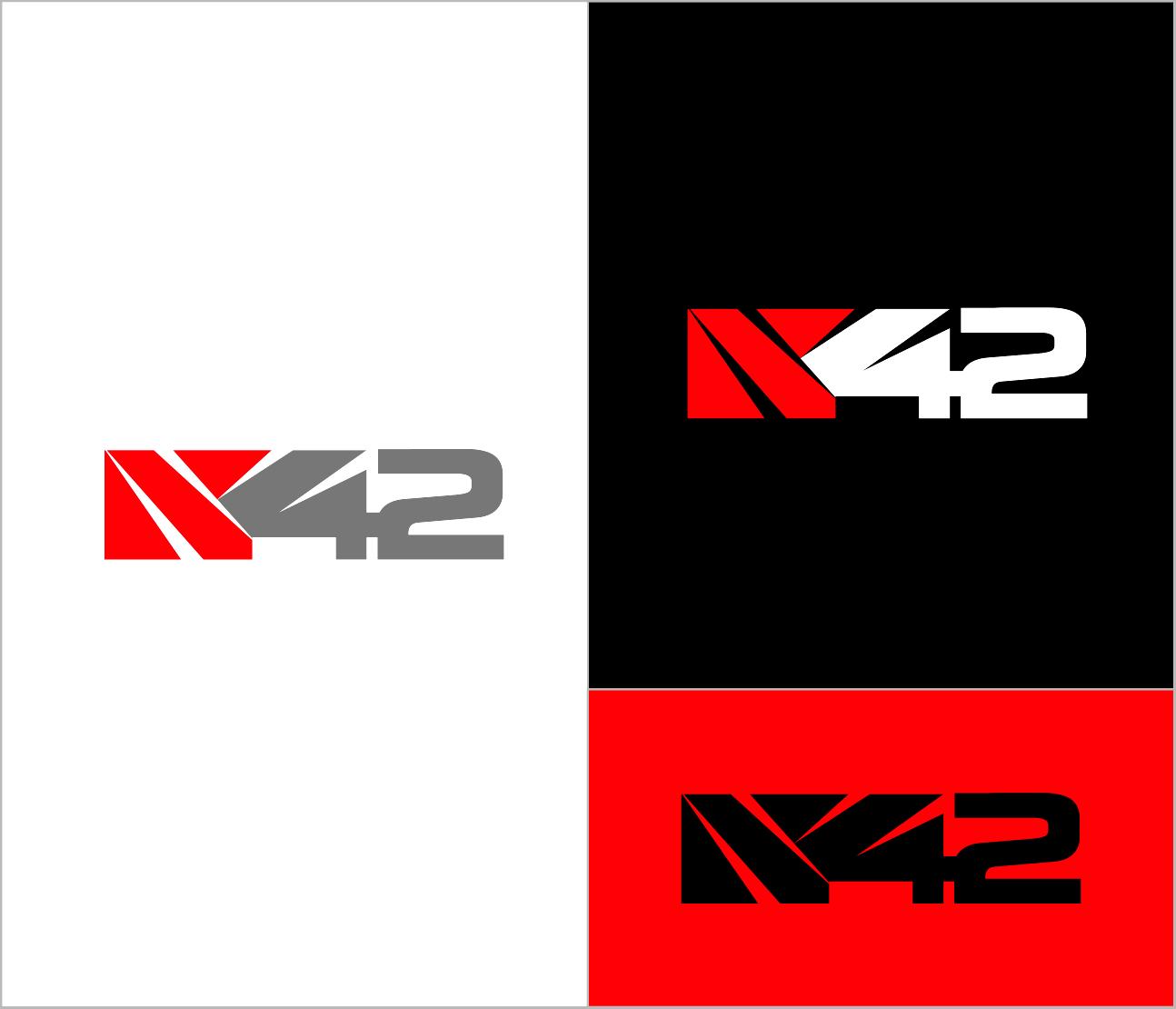 Logo Design by Armada Jamaluddin - Entry No. 197 in the Logo Design Contest Artistic Logo Design for Number 42.