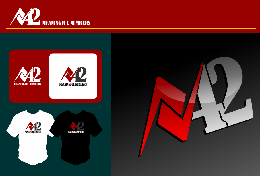 Logo Design by Agus Martoyo - Entry No. 200 in the Logo Design Contest Artistic Logo Design for Number 42.