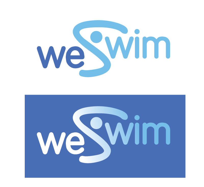 Logo Design by Christina Evans - Entry No. 43 in the Logo Design Contest Captivating Logo Design for We Swim.