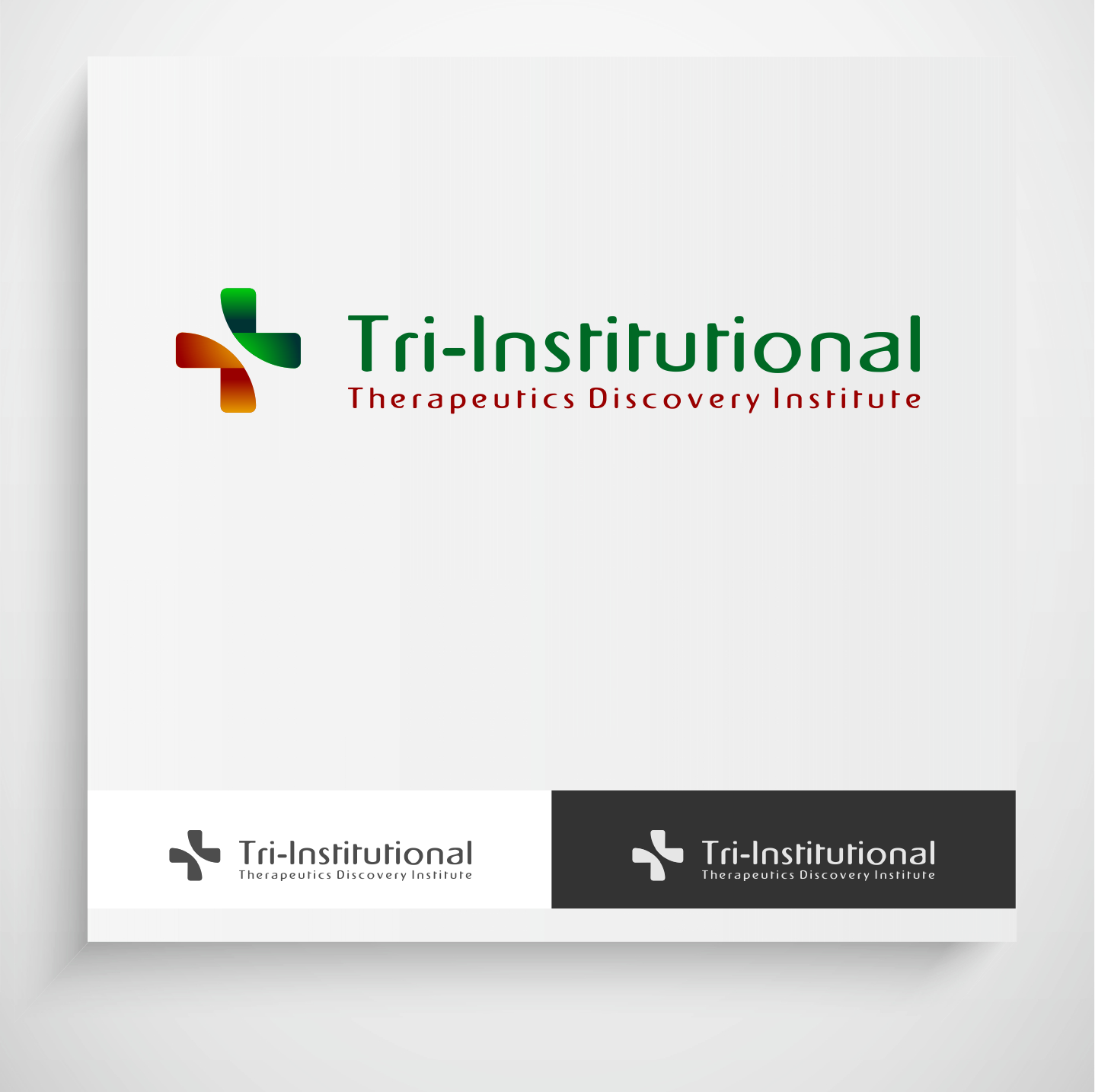 Logo Design by Krzysztof Mokanek - Entry No. 75 in the Logo Design Contest Inspiring Logo Design for Tri-Institutional Therapeutics Discovery Institute.