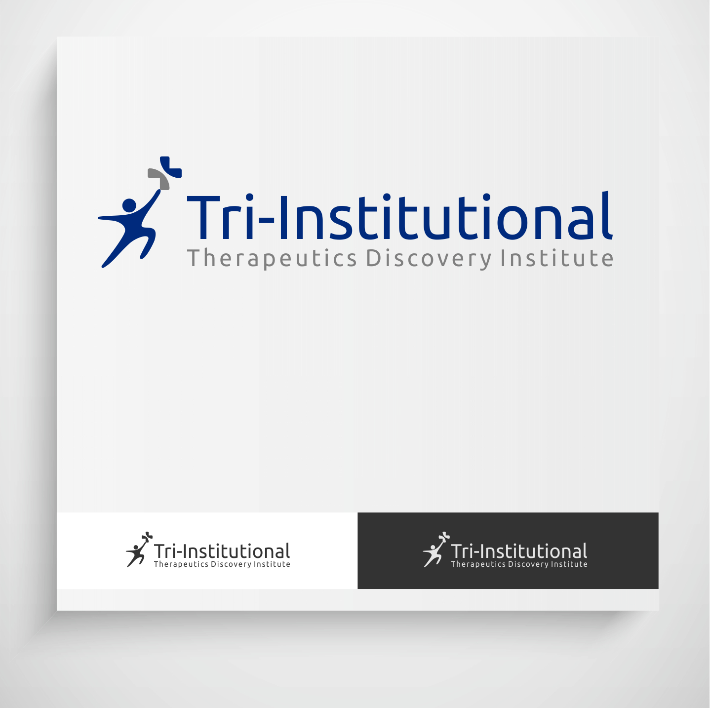 Logo Design by Krzysztof Mokanek - Entry No. 76 in the Logo Design Contest Inspiring Logo Design for Tri-Institutional Therapeutics Discovery Institute.