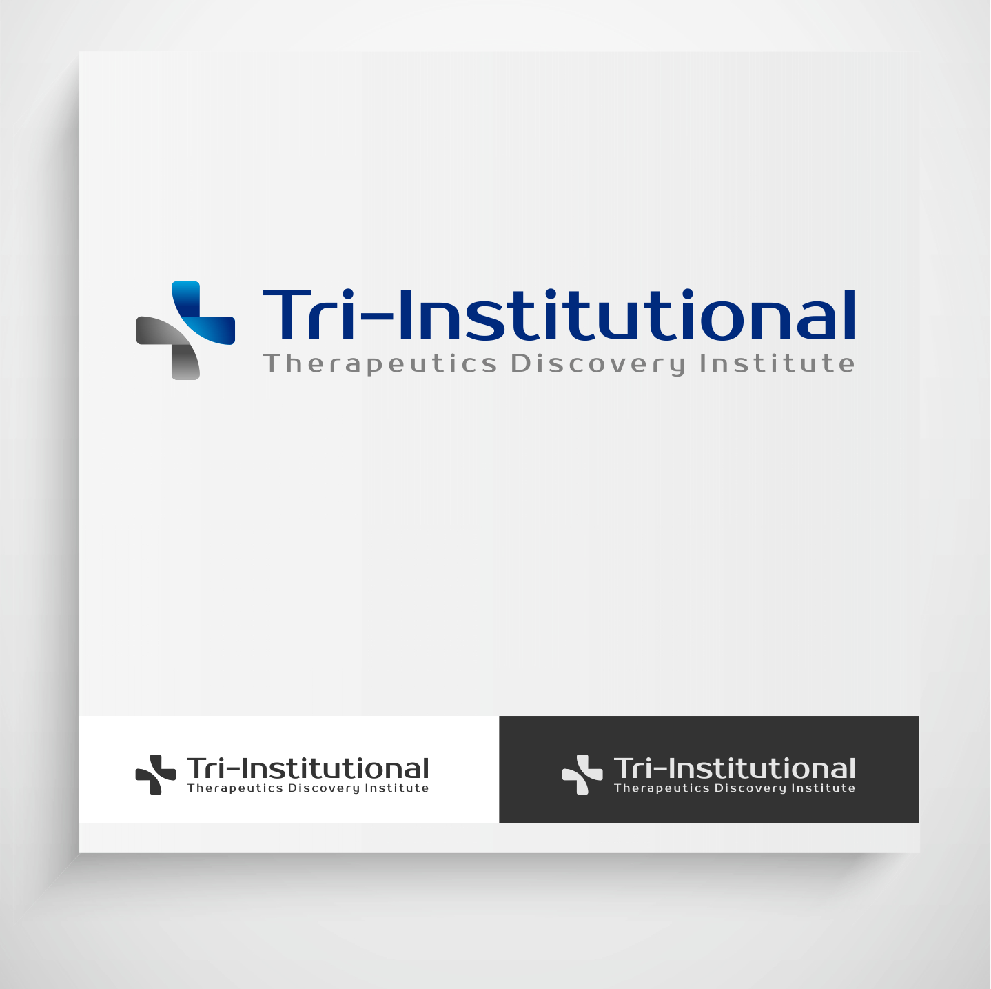 Logo Design by Krzysztof Mokanek - Entry No. 77 in the Logo Design Contest Inspiring Logo Design for Tri-Institutional Therapeutics Discovery Institute.