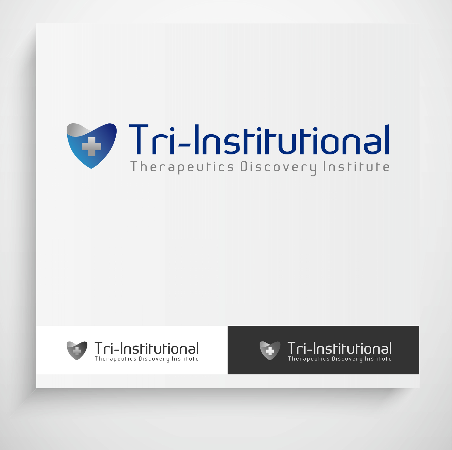 Logo Design by Krzysztof Mokanek - Entry No. 78 in the Logo Design Contest Inspiring Logo Design for Tri-Institutional Therapeutics Discovery Institute.