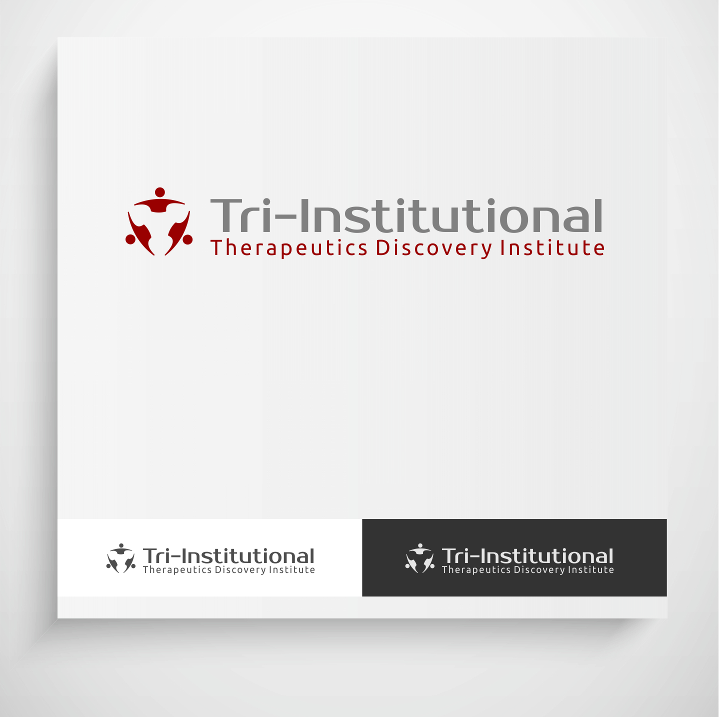 Logo Design by Krzysztof Mokanek - Entry No. 79 in the Logo Design Contest Inspiring Logo Design for Tri-Institutional Therapeutics Discovery Institute.