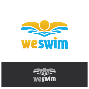 Logo Design by Private User - Entry No. 45 in the Logo Design Contest Captivating Logo Design for We Swim.