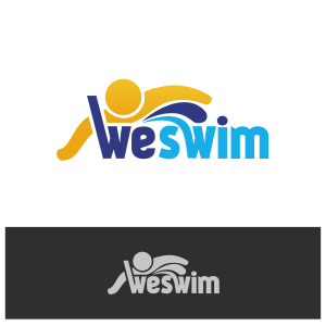 Logo Design by Private User - Entry No. 46 in the Logo Design Contest Captivating Logo Design for We Swim.