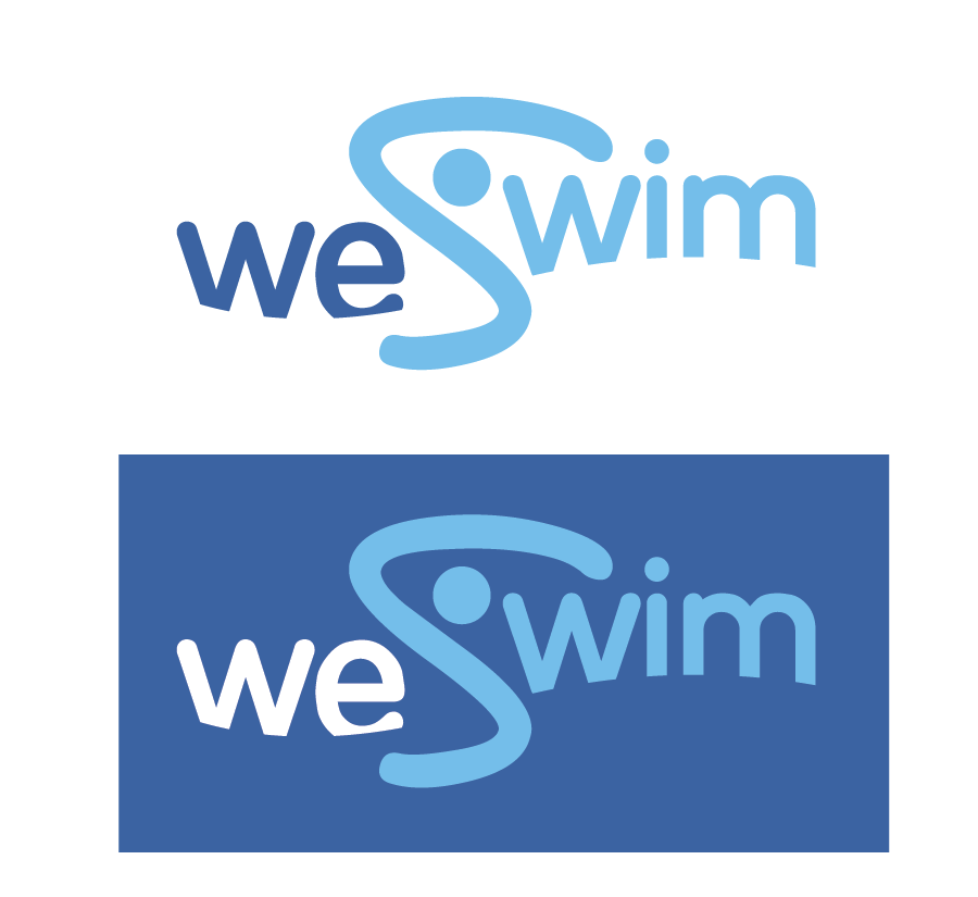 Logo Design by Christina Evans - Entry No. 47 in the Logo Design Contest Captivating Logo Design for We Swim.