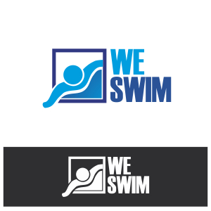 Logo Design by Private User - Entry No. 50 in the Logo Design Contest Captivating Logo Design for We Swim.