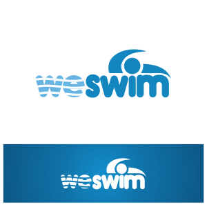 Logo Design by Private User - Entry No. 51 in the Logo Design Contest Captivating Logo Design for We Swim.