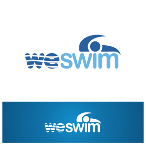 Logo Design by Private User - Entry No. 52 in the Logo Design Contest Captivating Logo Design for We Swim.