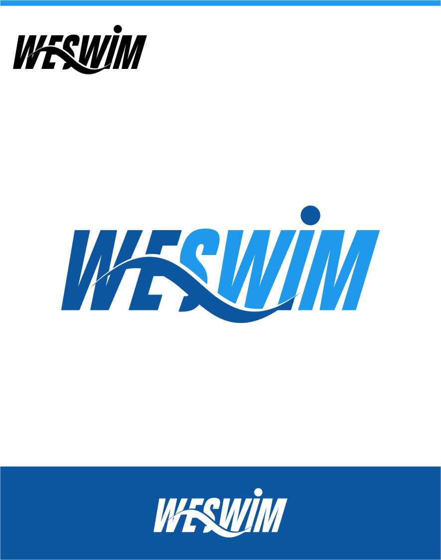 Logo Design by Ngepet_art - Entry No. 53 in the Logo Design Contest Captivating Logo Design for We Swim.