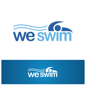 Logo Design by Private User - Entry No. 54 in the Logo Design Contest Captivating Logo Design for We Swim.