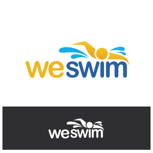 Logo Design by Private User - Entry No. 55 in the Logo Design Contest Captivating Logo Design for We Swim.