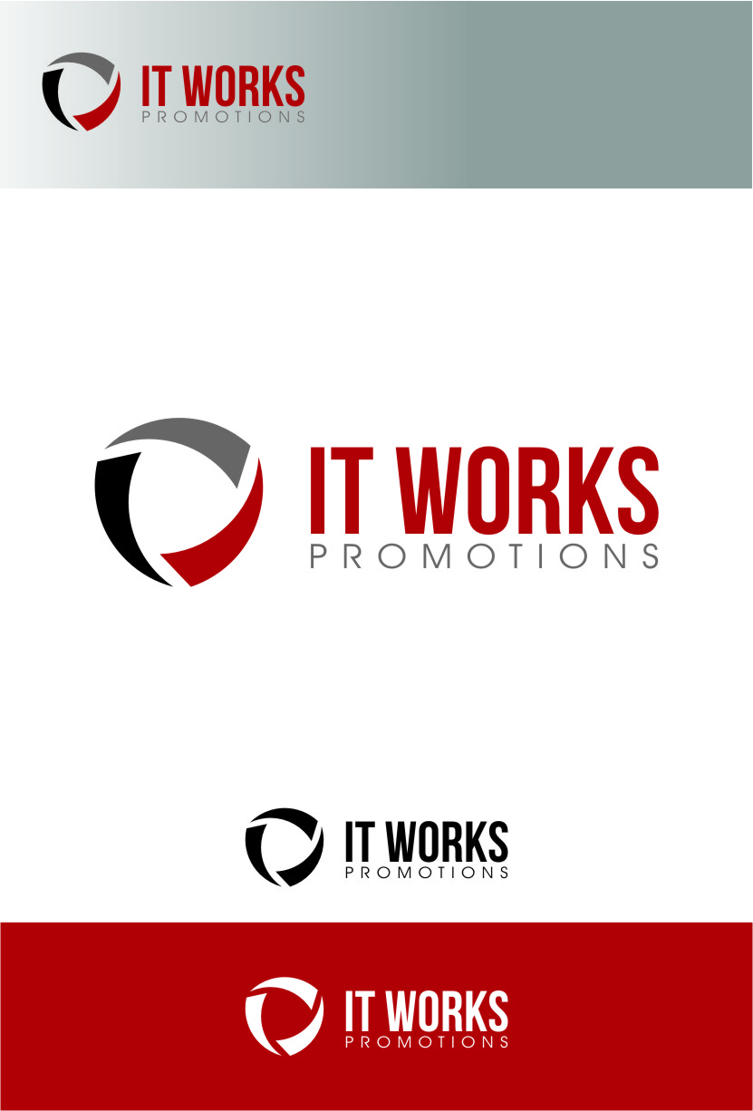 Logo Design by RoSyid Rono-Rene On Java - Entry No. 58 in the Logo Design Contest Creative Logo Design for It Works Promotions.