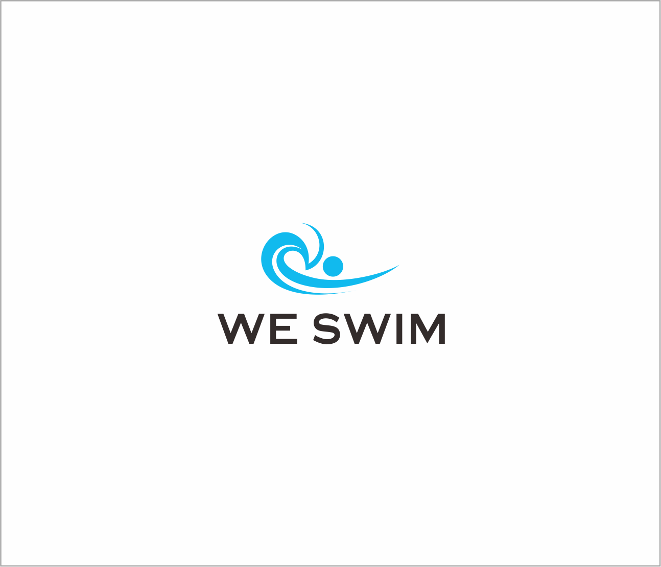 Logo Design by Armada Jamaluddin - Entry No. 59 in the Logo Design Contest Captivating Logo Design for We Swim.