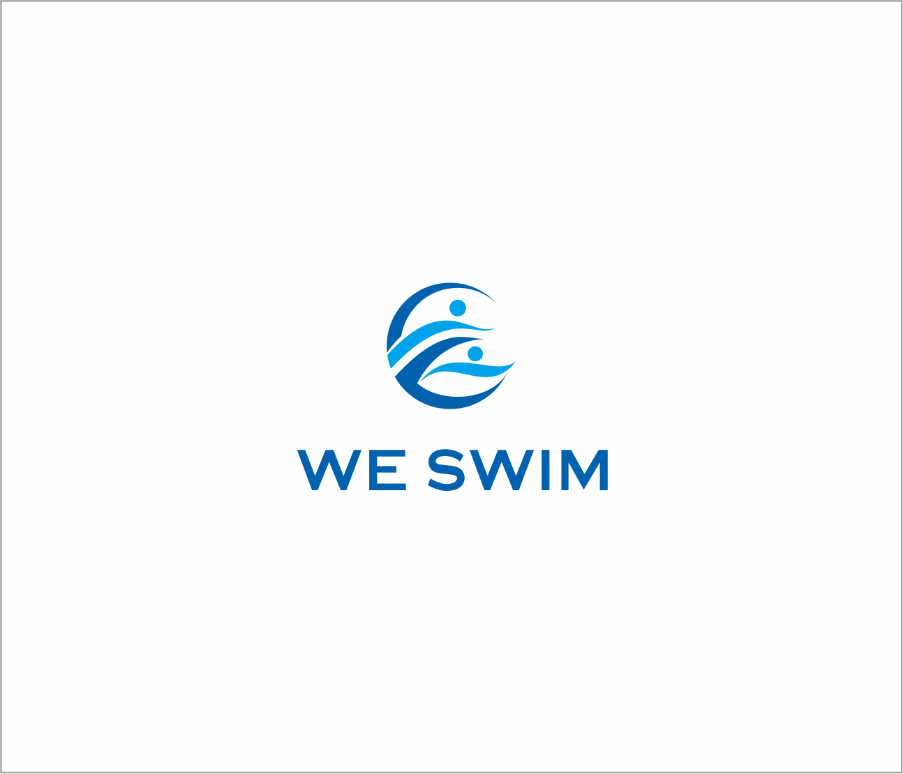 Logo Design by Armada Jamaluddin - Entry No. 60 in the Logo Design Contest Captivating Logo Design for We Swim.