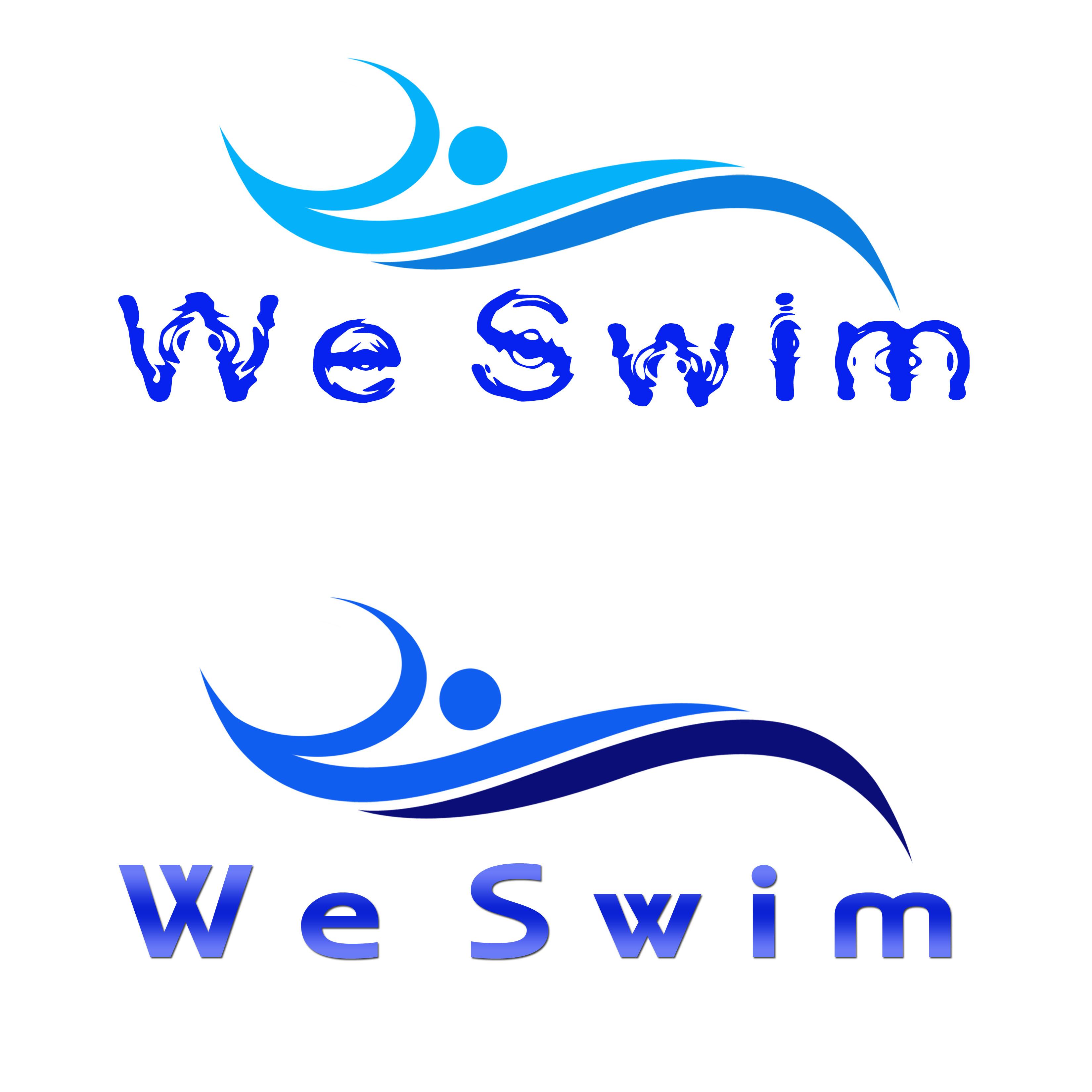 Logo Design by Allan Esclamado - Entry No. 63 in the Logo Design Contest Captivating Logo Design for We Swim.