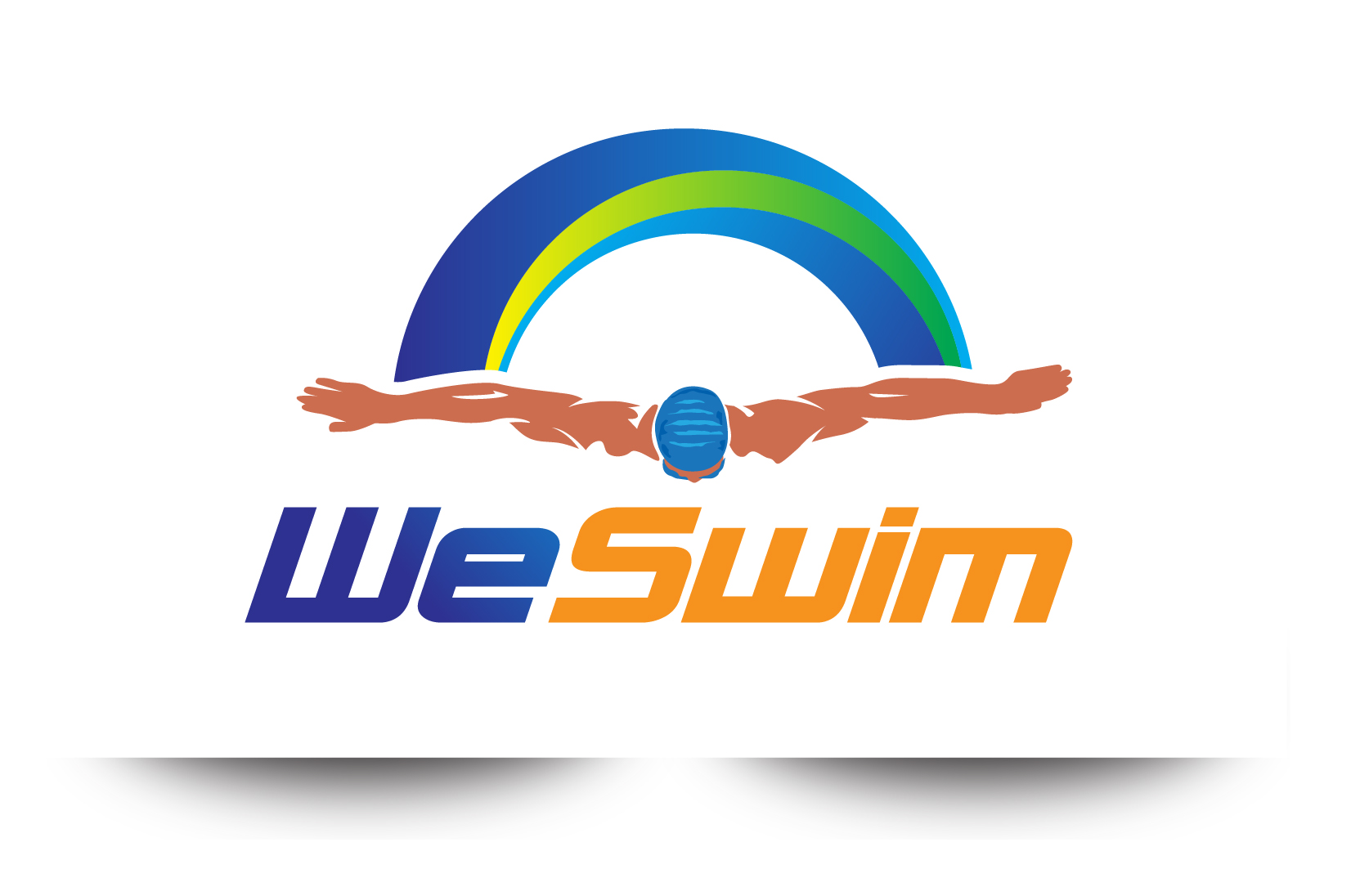 Logo Design by demang - Entry No. 66 in the Logo Design Contest Captivating Logo Design for We Swim.