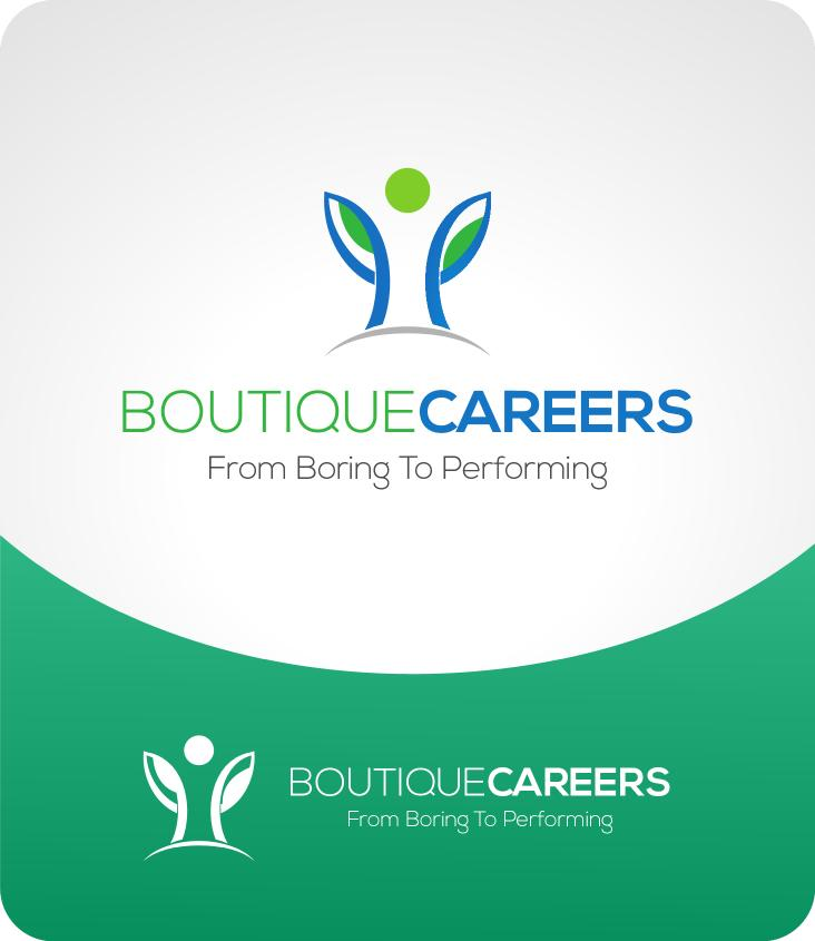 Logo Design by luvrenz - Entry No. 16 in the Logo Design Contest Captivating Logo Design for Boutique Careers.