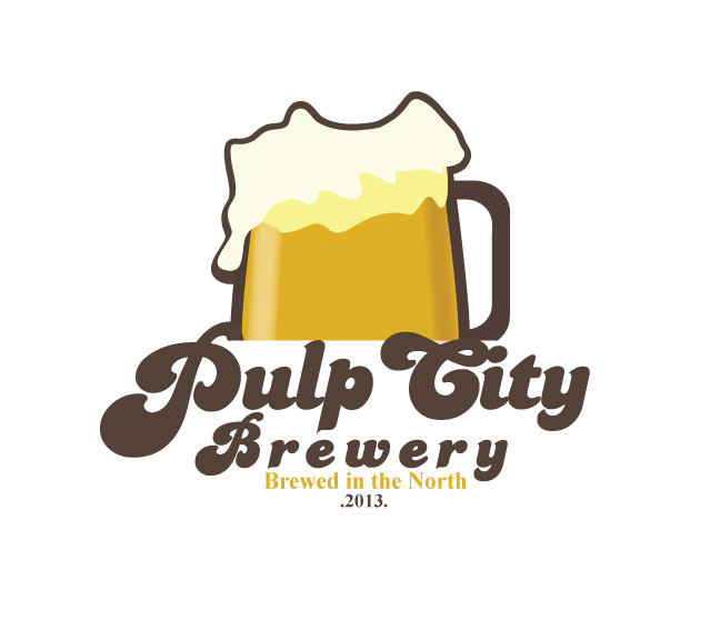 Logo Design by Nirmali Kaushalya - Entry No. 57 in the Logo Design Contest Artistic Logo Design for Pulp City Brewery.