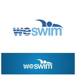 Logo Design by Private User - Entry No. 70 in the Logo Design Contest Captivating Logo Design for We Swim.