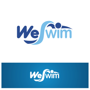 Logo Design by Private User - Entry No. 71 in the Logo Design Contest Captivating Logo Design for We Swim.