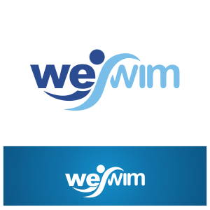 Logo Design by Private User - Entry No. 72 in the Logo Design Contest Captivating Logo Design for We Swim.